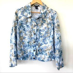 Saint Tropez West 💯 linen jacket